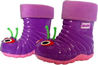 防水雨靴小童女孩幼童 - 趣味舒适的动物设计鞋