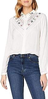 Superdry 女式 Sandy Emb 衬衫衬衫