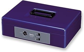 ASKA ASMIX 手提保险柜 MCB MCB250 A5 鍵のみ 収納書類 A5 钴蓝色
