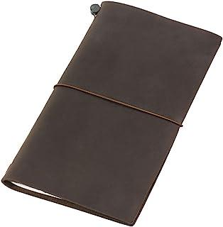 MIDORI TRAVELER'S Notebook 皮质笔记本 茶色 标准型