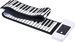 Ammoon 笔记本 61 钥匙灵活的滚珠钢琴 USB MIDI 键盘 E 钢琴 手卷(88 键)