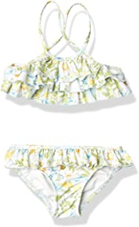 Seafolly 女童褶边分体泳衣套装