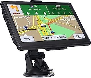 GPS 汽车导航,2021 年*新地图 7 英寸高清触摸屏 256-8GB 导航系统,带语音指导和速度警告,终身免费地图更新