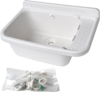 LAVSG60水槽树脂白色600 x 420 x 300毫米