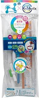 SONIC(索尼克)Nanopita 儿童 规尺套装 SK-7885 parent 定規セット くるんパス入