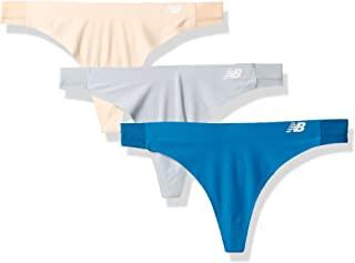 New Balance 女士混合柔软针织网面拼接丁字裤(3 件装)