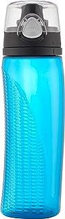 Thermos 膳魔师 热水瓶,带仪表的水合水瓶,蓝绿色,710毫升