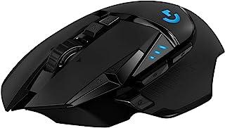 Logitech 罗技 G502 HERO 游戏鼠标 HERO 传感器910-005568 G502 Lightspeed West Europe Box