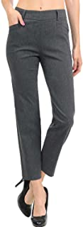 VIV Collection 新款女式直筒裤,4 种款式长款/短裤/紧身裤/脚踝