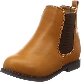 [MENENEE] 男女通用 中性 儿童 侧裆 内侧侧面拉链 平跟 短靴 32222kids02p3088015