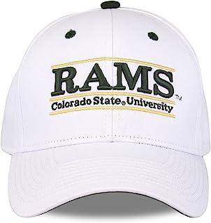 科罗拉多州州 RAMS 成人游戏杆可调节帽子–白色,