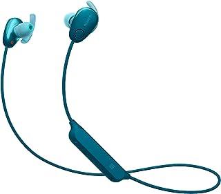 Sony 索尼 WI-SP600N 高级防水蓝牙无线超低音运动入耳式耳机/麦克风(国际版) (蓝色)