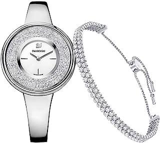 施华洛世奇水晶纯套装-手链和女式手表 5380026