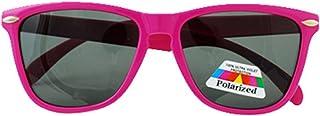 Banz 太阳镜,6至10岁青少年,粉红色边框