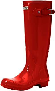 [猎人]雨靴 原创 光泽 HWFT1000RGL MILITARY RED 22.0 cm