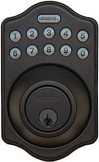 LockState LS-DB500-RB 电子门闩,带遥控器