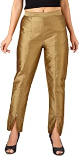 ANIIQ 优质塔夫绸长裤,适合女孩和女士 休闲穿着,外出,四季度假,郁金香设计
