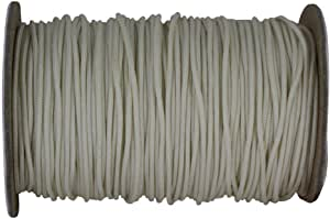 SGT KNOTS Polyester Lift Cord/Mini Blind/Roman Shade Made in USA - Several Colors & Sizes (0.9 mm x 100 yards - Almond)