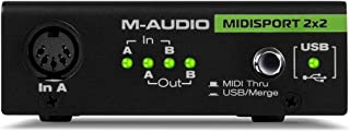 M-Audio Midiman Midisport 2X2 USB MIDI 接口