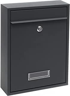 kippen 10005AN 信箱型号邮件颜色煤黑色,320x215x90 毫米