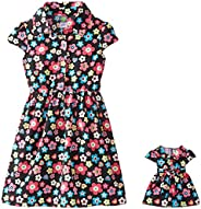 Dollie & Me Big Girls' Floral Sh