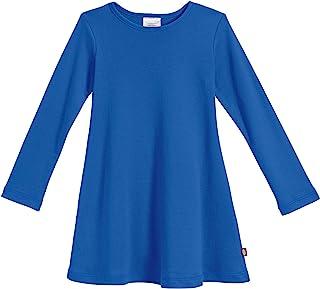 City Threads 女童超柔软棉质长袖连衣裙美国制造