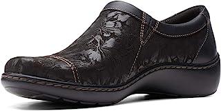 Clarks 女式 Cora Giny 乐福平底鞋