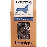 Tea Pigs 全葉制成的大吉嶺伯爵茶包(1袋50茶包),4.40盎司,125克