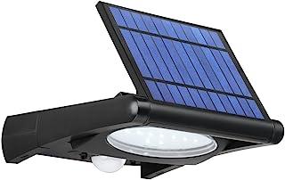 Link2Home EM-SL360B 黑色户外 LED 320 流明太阳能*可调节运动传感器灯,带光电技术