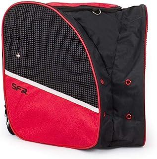 Sfr Skates BAG500 冰鞋袋,青年中性款,黑色/红色,均码