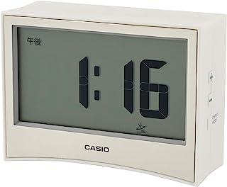 Casio 卡西欧 带温度湿度计 电子钟 白色 7.1×9.6×3.6cm DQD-S01J-7JF