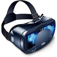 3D 虚拟现实眼镜,VR 耳机全屏视觉广角柔软舒适新款 3D VR 眼镜,适用于 5-7 英寸智能手机和 iPhone…