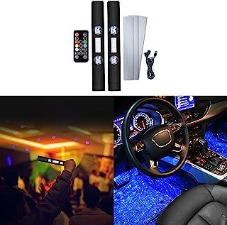 LECART 车灯内部无线 USB 星空投影灯声音激活通用适用于客厅/卧室/派对/庆祝活动/婚礼/生日