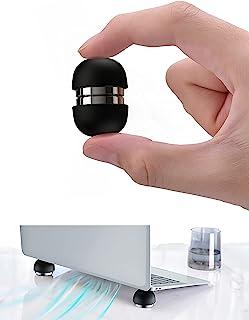 笔记本电脑冷却垫磁性迷你便携式脚笔记本电脑冷却支架球适用于所有电脑