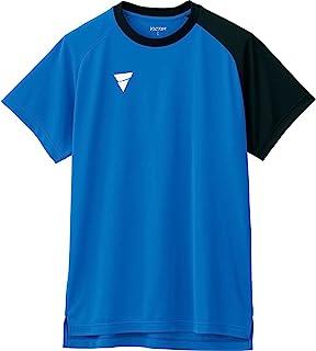 VICTAS 乒乓球 练习用 衬衫 V-NTS204 蓝色 2XL 033462