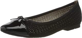 Jana * 舒适女式 8-8-22111-24 闭趾芭蕾平底鞋