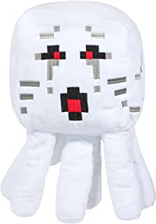 Minecraft Ghast 毛绒填充枕头 Buddy - 超柔软涤纶超细纤维,15 英寸(Minecraft 官方产品)