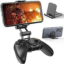控制器夹架兼容 Xbox 系列 X/S 控制器,OIVO *双可调节夹子,手机夹支架,适用于 Xbox 系列 X/S 控制器