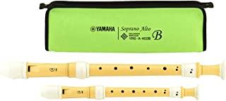 雅马哈 YAMAHA 由来源的树脂制竖笛 高音・中音套装 巴洛克式 YRSA-402B