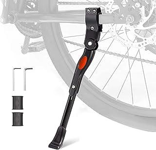 Tonsiv 自行车支架 高度可调自行车支架 适用于山地自行车 公路自行车 儿童自行车 可折叠自行车 适用于轮子直径 22-27 英寸的自行车