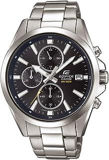 Edifice 男士指针式石英手表不锈钢表链 EFV-560D-1AVUEF