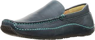 Nature Luste 软皮平底鞋 驾车风格莫卡辛鞋 女士 N135 *蓝 23.0 cm