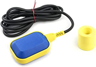 QWORK 3.05 米电缆浮动开关水位控制器耐用水箱,泵泵