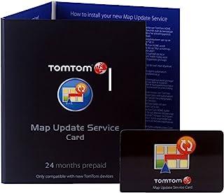 TomTom 地图更新服务(24个月),适用于许多GO、ONE、ONE XL 和 XXL 系列设备