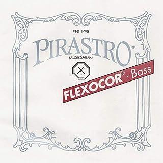 Pirastro FLE341200 Flexocor 系列钢制 Bass E 弦,绳核心