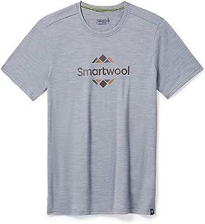 Smartwool 男式美利奴运动 150 标志图案 T 恤