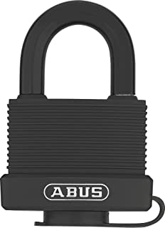 ABUS 挂锁 黄铜 70/50 gl.-6401 – 相同 – 防风雨 – 黄铜锁体 – 抗冲击塑料护套 – ABUS *等级 6