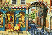 Dimensions Crafts The Gold Collection Counted Cross Stitch Kit, Charming Waterway