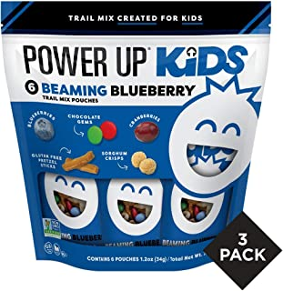 Power Up Kids Beaming Blueberry Trail Mix, Nut Free, Snack Mix, Perfect Snack for School, Gluten Free, No Artifical Colors...