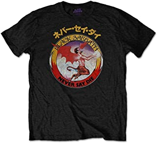Black Sabbath 男士 T 恤反向标志黑色